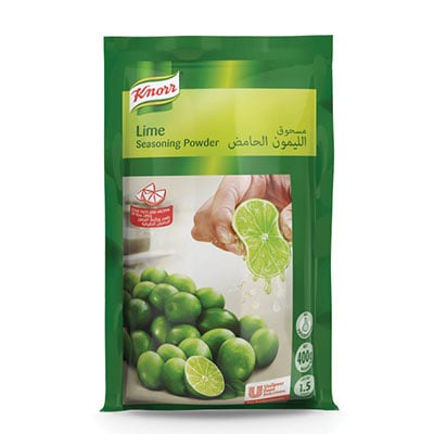Knorr Lime Seasoning (12x400g) - Knorr Lime Seasoning allows you to have a consistent lime concentrate within minutes