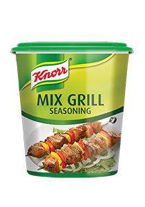 Knorr Mix Grill Seasoning (6x900g) - Knorr Seasoning Range is made of natural spices, herbs and vegetables
