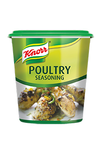 Knorr Poultry Seasoning (6x1kg) - Knorr Seasoning Range is made of natural spices, herbs and vegetables