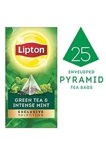 ليبتون شاي أخضر ونعناع قوي ٦×٢٥×٢جم -