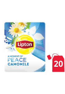 Lipton Herbal Infusion Camomile (16x20 teabags) - Lipton Herbal Teas are designed to lift each employee's mood