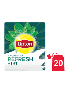 Lipton Herbal Infusion Mint (16x20 teabags) - Lipton Herbal Teas are designed to lift each employee's mood