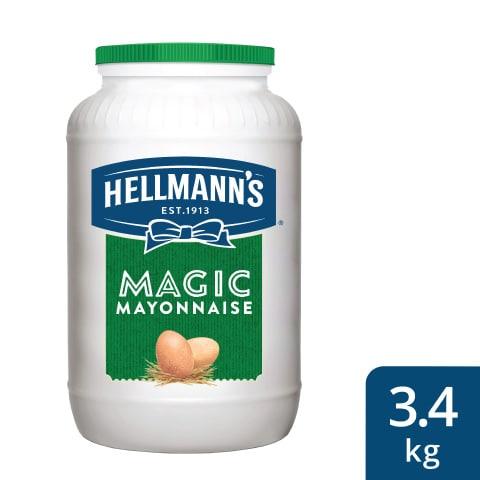 هيلمانز مايونيز السحري ٤×٣.٤كجم -