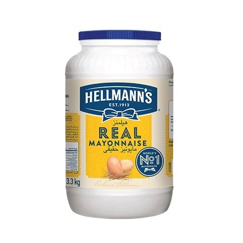 هيلمانز مايونيز حقيقي ٤×٣.٣كجم -
