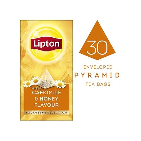 Lipton Exclusive Selection Camomile & Honey Flavour Tea (6x25x0.9g) -