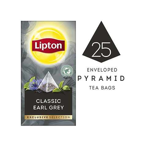 Lipton Exclusive Selection Classic Earl Grey Tea (6x25x1.8g) -