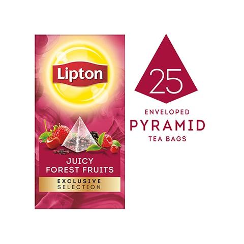 ليبتون مجموعة حصرية شاي بفواكه الغابة (جم٦x٢٥x١.٧) -