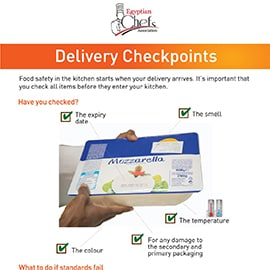 Poster - Delivery checkpoints